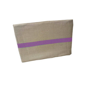 Hessian Bag Purple Stripe Jumbo Nsw