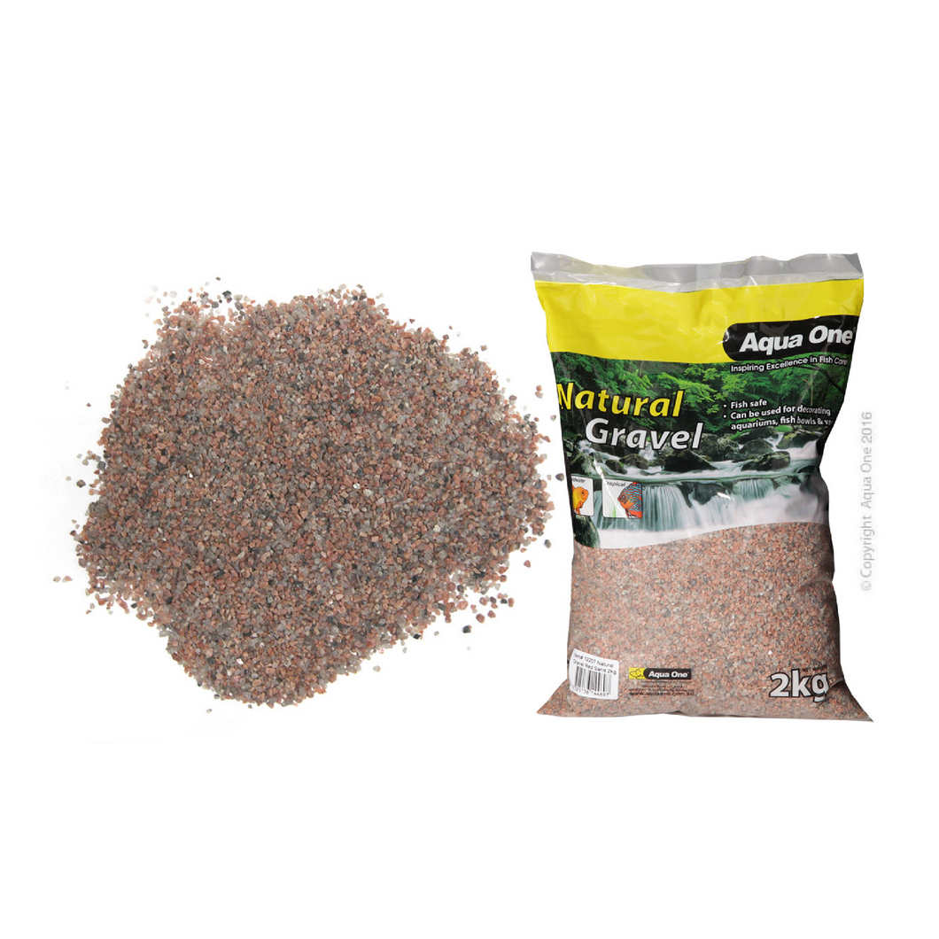 Natural Gravel Red Sand 2kg