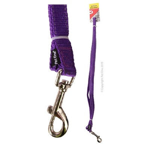 Leash Nylon Refl 150cm 20mm Rd