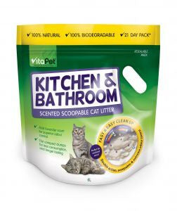 VitaPet Litter Bathroom & Kitchen 6kg/6Lt