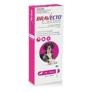 Bravecto Dog Spot On 40-56KG 1PK