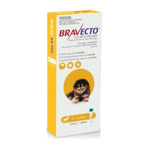 Bravecto Dog Spot On 2-4.5KG 1PK
