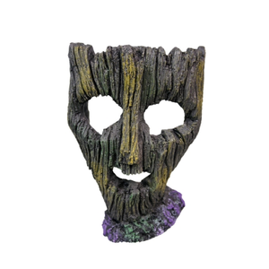Ornament Ruined Mask Medium 13x8.5x18cm