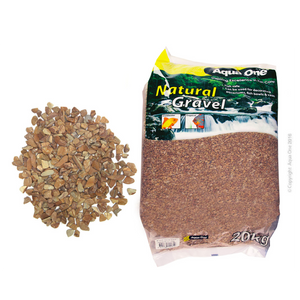 Natural Gravel Layered Brown 20kg