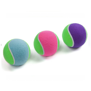 Sponge Tennis Ball Medium 6.5cm Pink / Purple / Blue