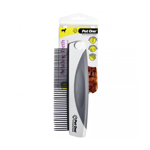 Grooming Comb With Rotating Teeth 55 Pins