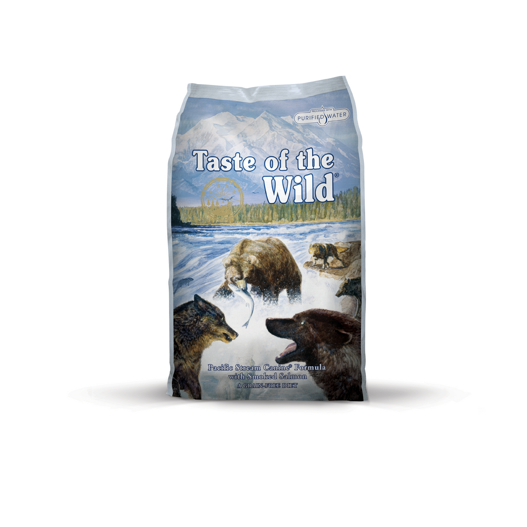 Taste of the Wild Grain Free - Pacific Stream Canine (12.2kg)