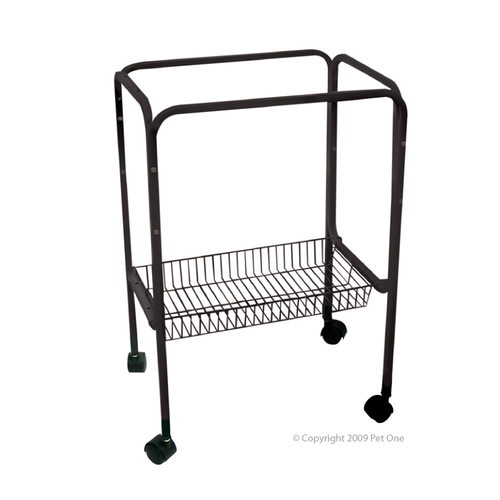 Stand with Wheels For 448/450 Cages 70cm High Black