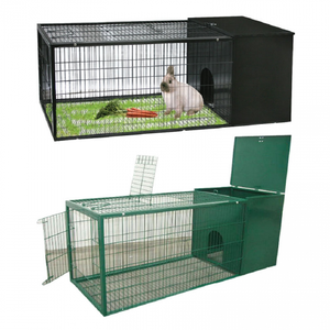 Small Animal Cage Green XL