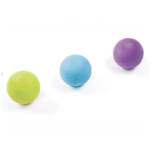Rubber Ball Large Green / Blue / Purple