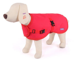 Reflective Nylon Coat XXL 72.5cm Red