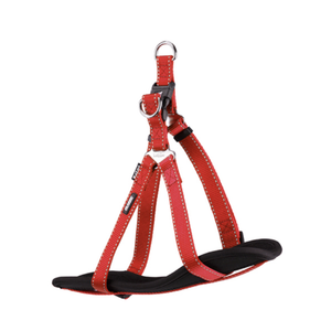 Classic - DD Nylon Walking Harness Ex Large Red
