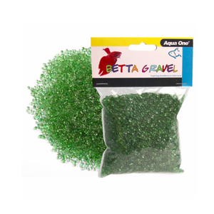 Betta Gravel Glass Green 350g