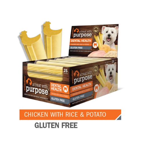 Chicken with Rice & Potato Dental Chews