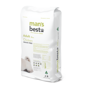 Mans Best Premium Adult Chicken Grain Free 12kg