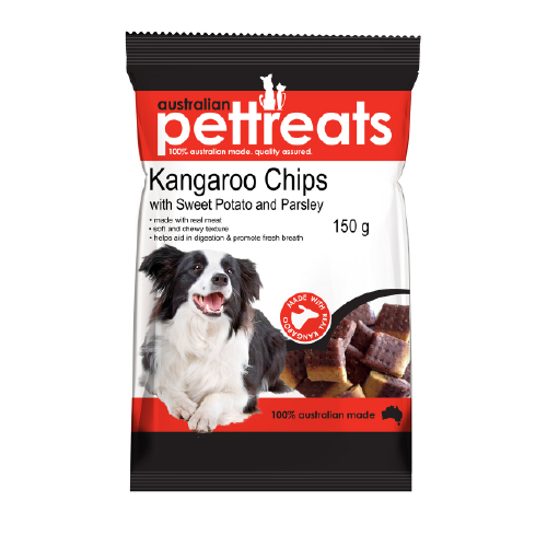 Kangaroo Chips with Sweet Potato & Parsley 150g