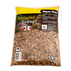 Natural Gravel Australian Gold Dark 4-6mm Mix 5kg