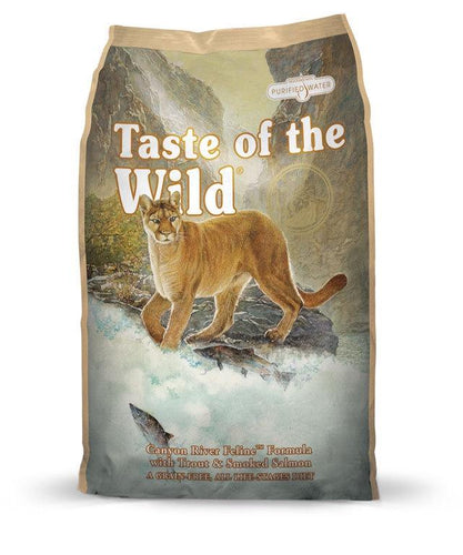 Taste of the Wild Grain Free - Canyon River Feline (6.6kg)