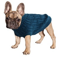 Dog Coat Komfyknit Jumper Icelandic 25cm Dark Teal