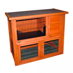 Hutch & Run Wooden Two Storey
