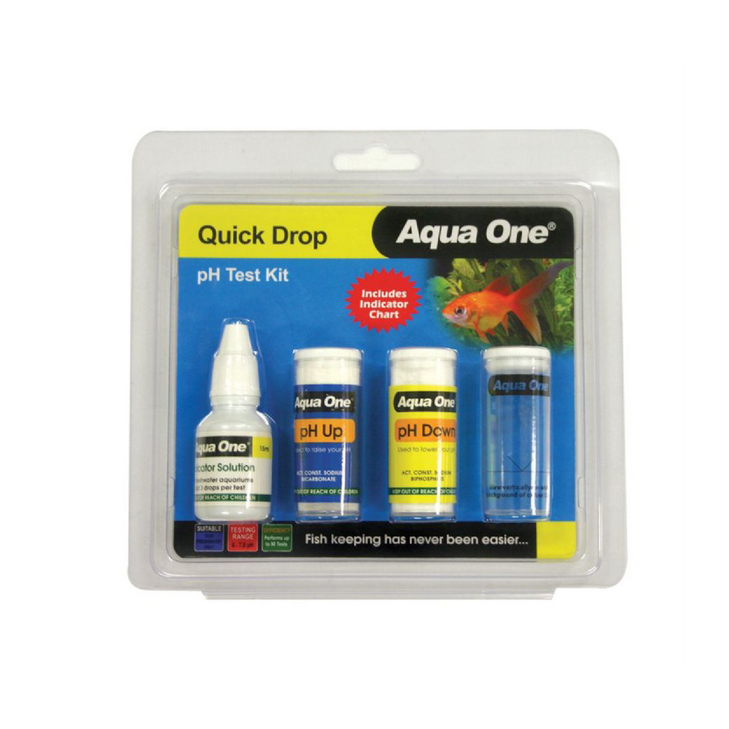 Quick Drop pH 6 to 7.8 Test Kit 100 Tests