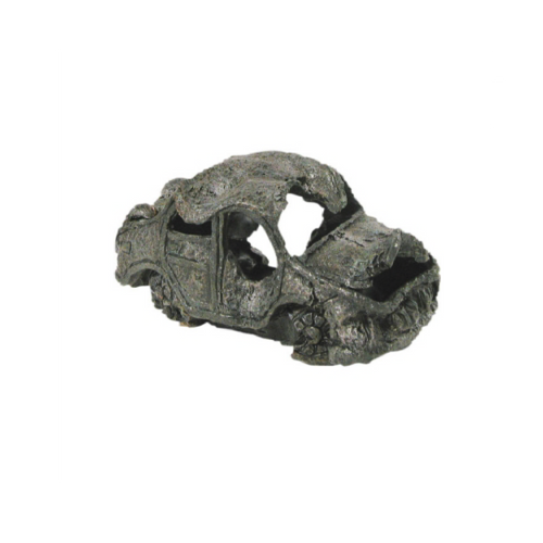 Ornament Ruined Car Small 16x8cm