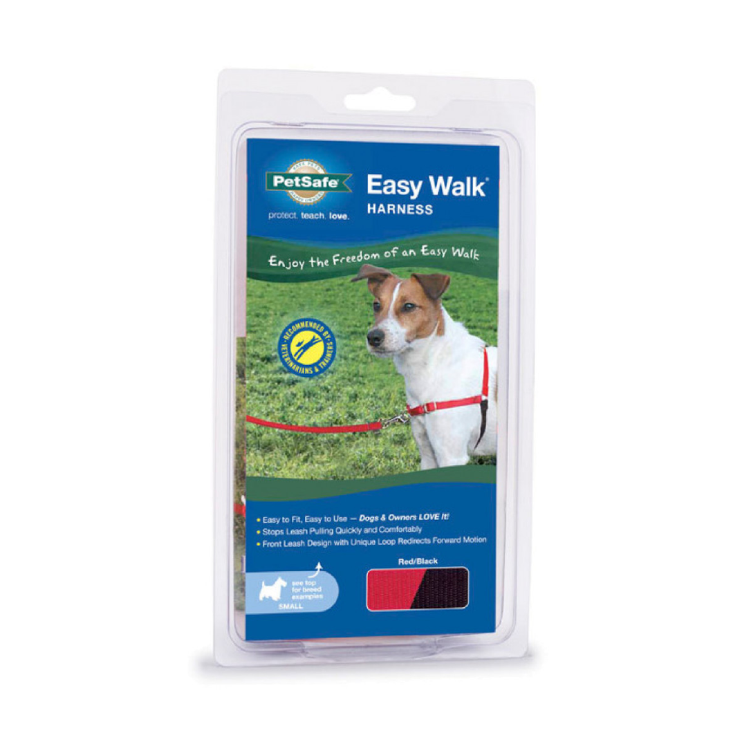 Gentle Leader Easy Walk Harness Small Red
