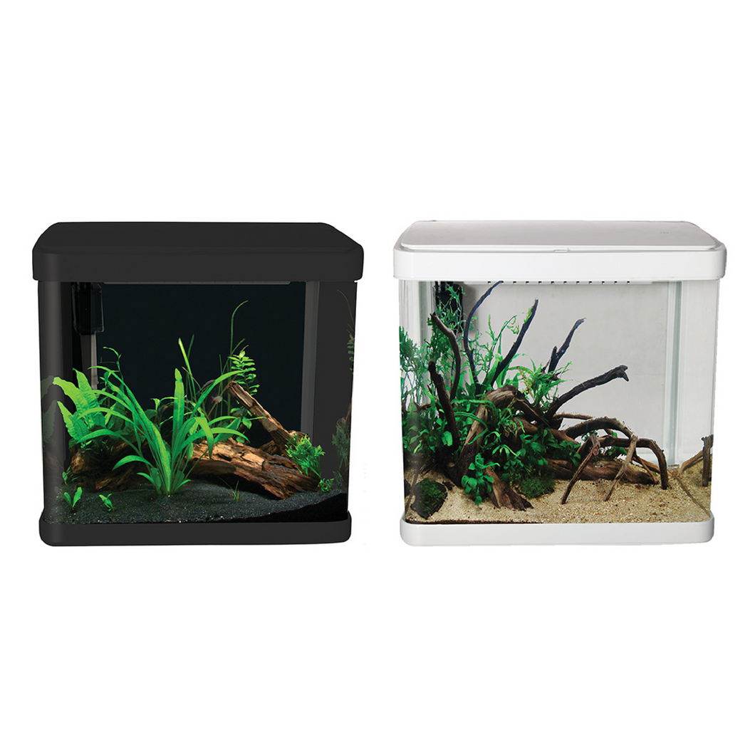LifeStyle 21 Complete Glass Aquarium 32cm 21L Gloss Black