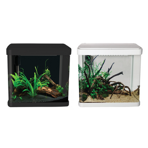 LifeStyle 21 Complete Glass Aquarium 32cm 21L Gloss White