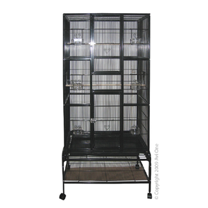 Cage 604 Square Tall Black