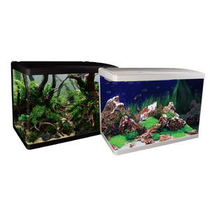LifeStyle 76 Complete Glass Aquarium 60cm 76L Gloss Black