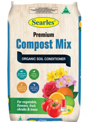 Searles Premium Organic Compost Mix 30 litre
