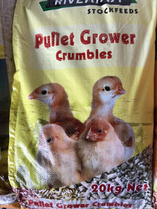 15% Pullet Grower Crumbles (Medicated) (20Kg)