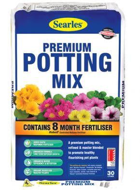 Searles Premium Potting Mix 30 litre