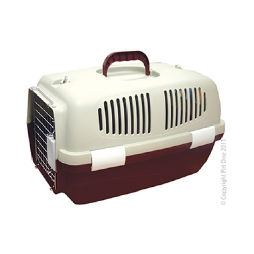 Plastic Pet Carrier Small 48L x 31W x 30cm H