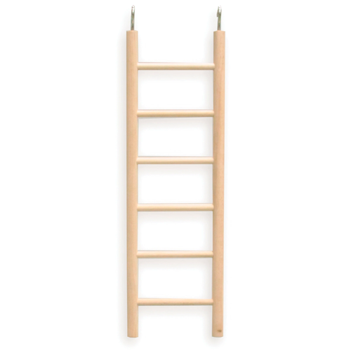 Ladder 6-Step Wooden Small Natural