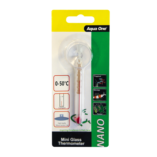 Nano Glass Thermometer 9cm