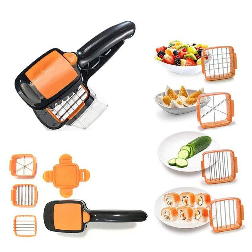 Stainless Steel 5-in-1 Vegetable and Fruit Slicer