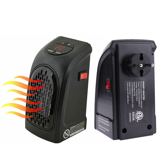 Handy Heater - Plug-in Personal Digital Electric Heater