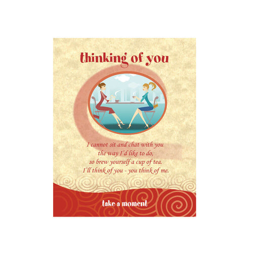 Cafe Girls Tea-Card (Thinking Of You)