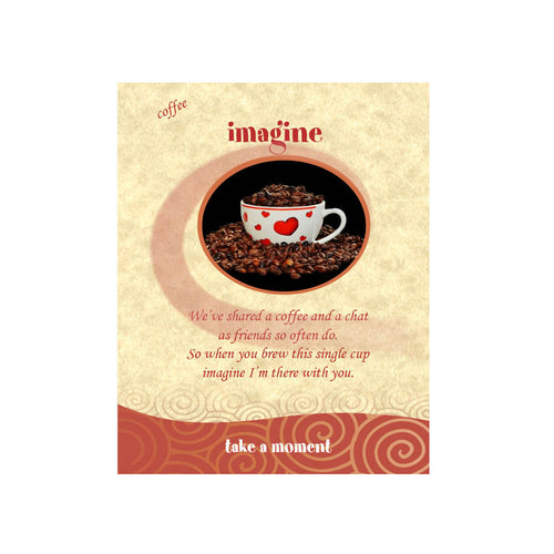 Coffee Cup Coffee-Card (Imagine)