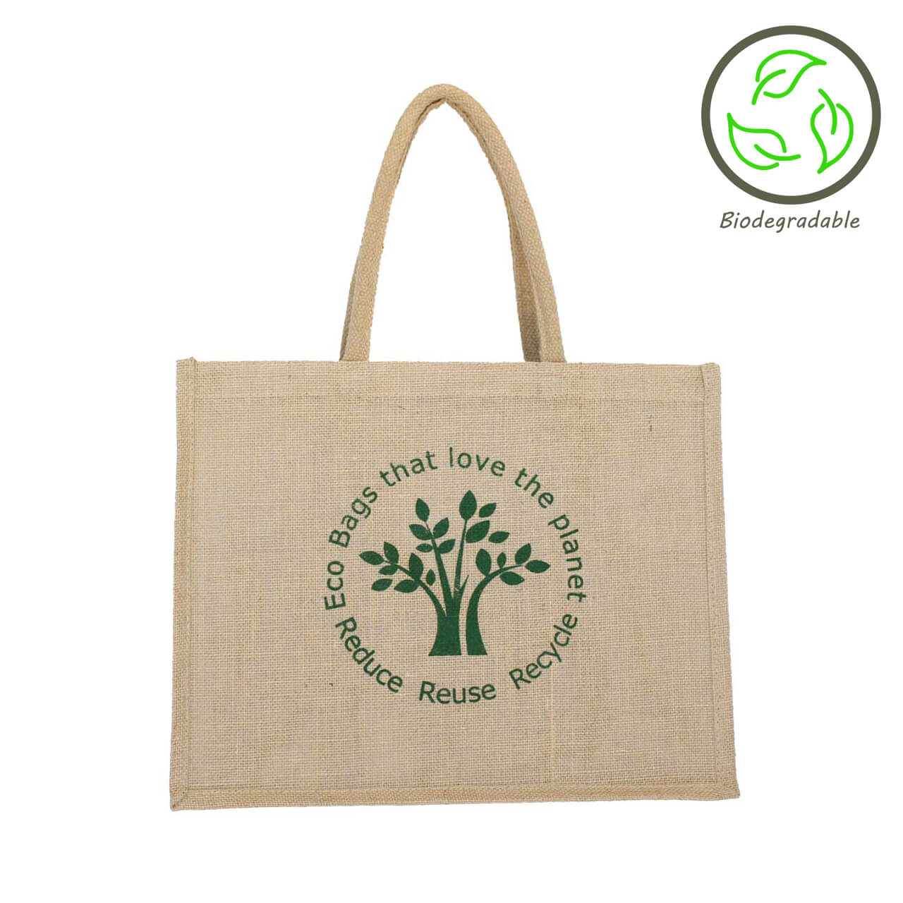 Ecotree Unlined Foldable Jute Bag