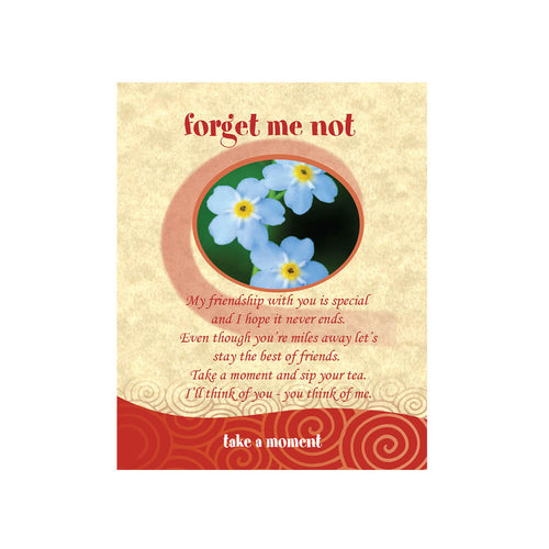 Forget Me Not Tea-Card