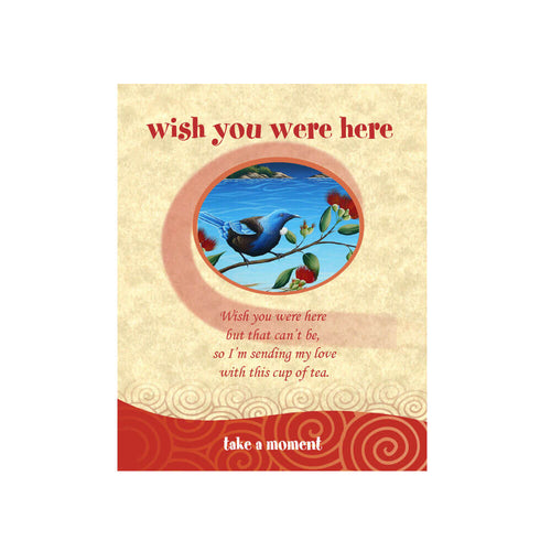 Tui Tea-Card (Wish You Were Here)