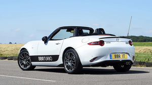Mazda MX-5 boosted by BBR turbo conversion