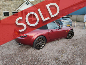 2007 MX-5 SPORT BBR SUPER 200 - COPPER RED - SIMPLY STUNNING