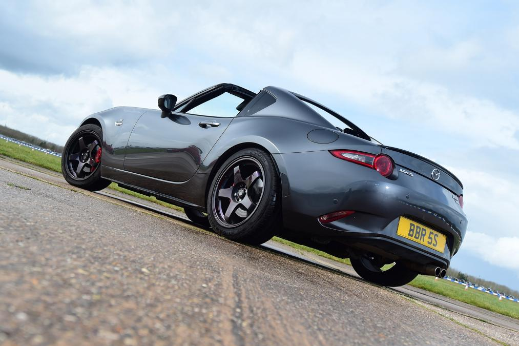 MAZDA MX-5 RF LAUNCH EDITION – MACHINE GREY – BBR STAGE ONE TURBO