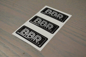 BBR GTi Gel Badge Pack of 3