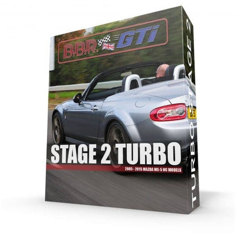 BBR Stage Two Mazda MX-5 NC (2005-2015) turbo upgrade