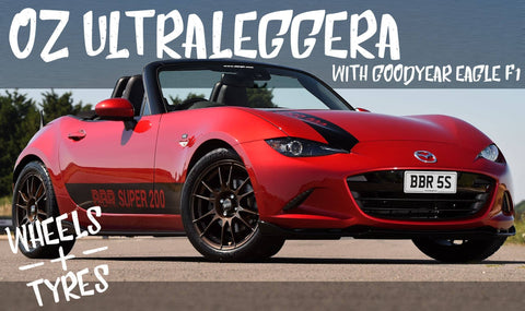 BBR MX-5 ND OZ Ultraleggera Wheel and Tyre Package